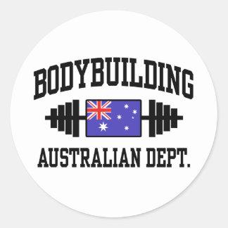 Australian Bodybuilder Sticker