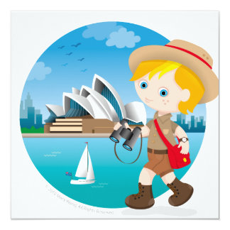 Australian boy card