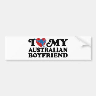 Australian Boyfriend Bumper Sticker
