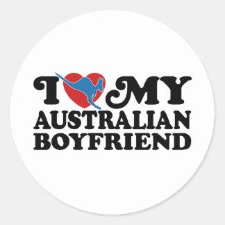Australian Boyfriend Stickers
