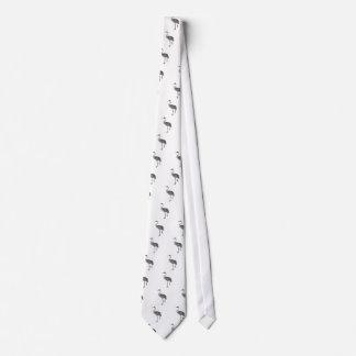 Australian Brolga Grus Rubicunda.png Neck Tie