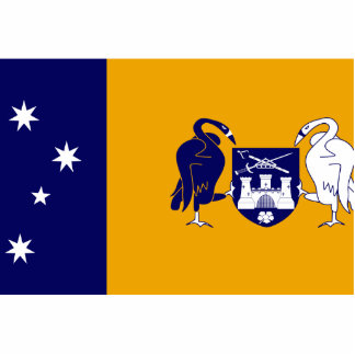 Australian Capital Territory, Australia flag Photo Sculptures