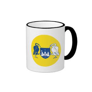 Australian Capital Territory Flag Ringer Mug