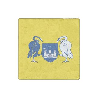 Australian Capital Territory Flag Stone Magnet