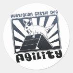 Australian Cattle Dog Agility A-Frame Stickers