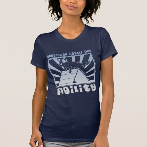 Australian Cattle Dog Agility A-Frame T Shirts