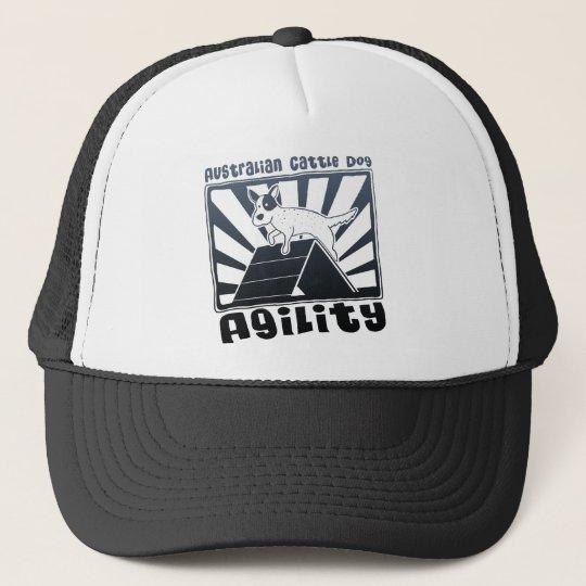 Australian Cattle Dog Agility A-Frame Trucker Hat