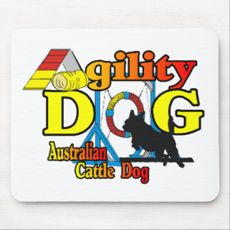 Australian Cattle Dog Agility Mouse Pad