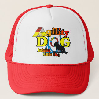 Australian Cattle Dog Agility Trucker Hat