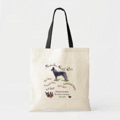 Australian Cattle Dog Art Gifts bag