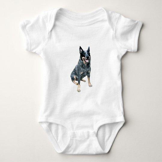 Australian Cattle Dog (B) Baby Bodysuit