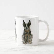 Australian Cattle Dog Blue Heeler Coffee Mug