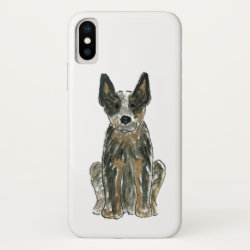 Australian Cattle Dog Blue Heeler Phone Case