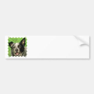 Australian Cattle Dog Bumper Sticker Car Bumper Sticker