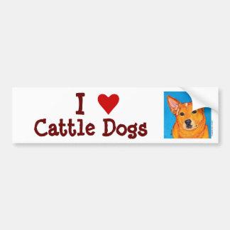 Australian Cattle Dog Bumper Sticker
