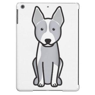 Australian Cattle Dog Cartoon iPad Air Cases