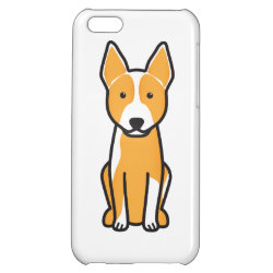 Case Savvy Matte Finish iPhone 5C Case with Australian Cattle Dog Phone Cases design