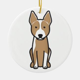 Australian Cattle Dog Cartoon Ceramic Ornament