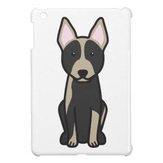 Australian Cattle Dog Cartoon iPad Mini Cases