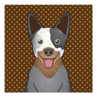 Australian Cattle Dog Cartoon Paws Art Photo