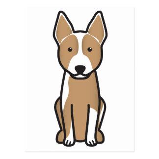 Australian Cattle Dog Cartoon Postcard