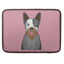 Macbook Pro 15' Flap Sleeve with Australian Cattle Dog Phone Cases design