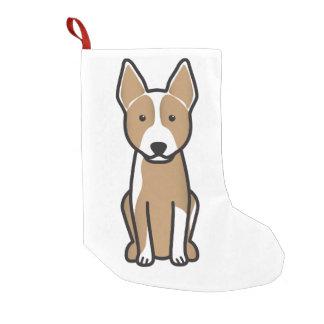 Australian Cattle Dog Cartoon Small Christmas Stocking