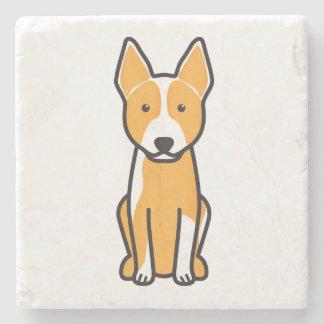 Australian Cattle Dog Cartoon Stone Coaster