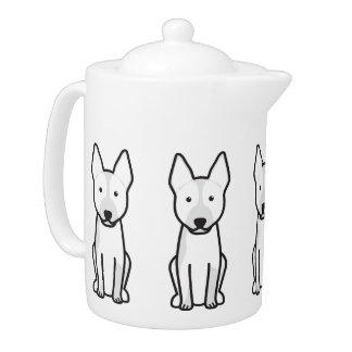 Australian Cattle Dog Cartoon Teapot
