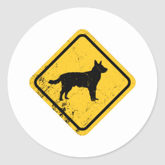 Australian Cattle Dog Classic Round Sticker