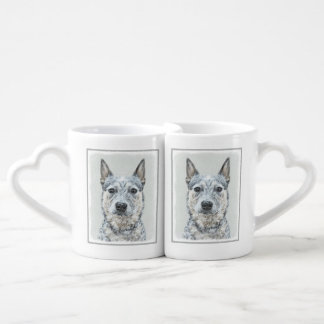 Australian Cattle Dog Coffee Mug Set