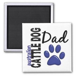 Australian Cattle Dog Dad 2 Magnet