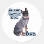 Australian Cattle Dog Dad 4 - Sticker