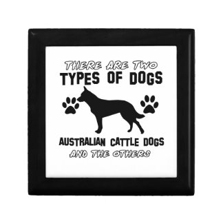 Australian Cattle Dog designs Jewelry Boxes