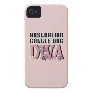 Australian Cattle Dog DIVA iPhone 4 Case-Mate Case