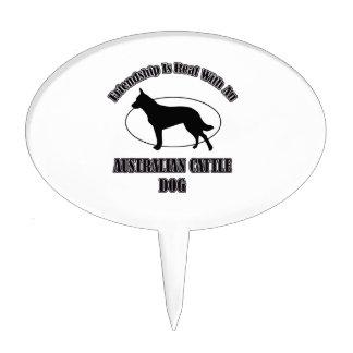 AUSTRALIAN CATTLE DOG DOG DESIGNS CAKE TOPPER
