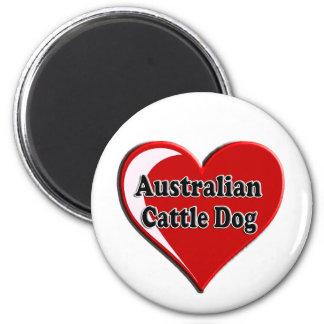 Australian Cattle Dog Dog Heart for Dog Lovers Magnet