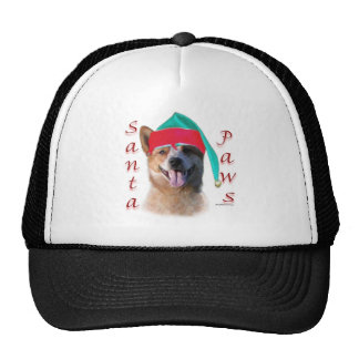 Australian Cattle Dog Dog Santa Paws Trucker Hats