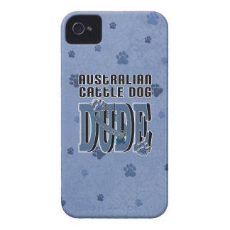 Australian Cattle Dog DUDE Case-Mate iPhone 4 Case