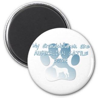 Australian Cattle Dog Grandchildren Magnet
