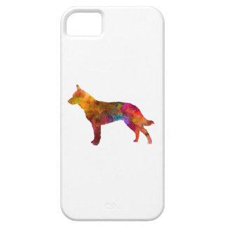 Australian Cattle Dog in watercolor iPhone SE/5/5s Case