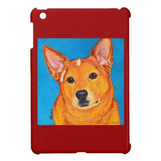 "Australian Cattle Dog iPad Case - ""Red"""