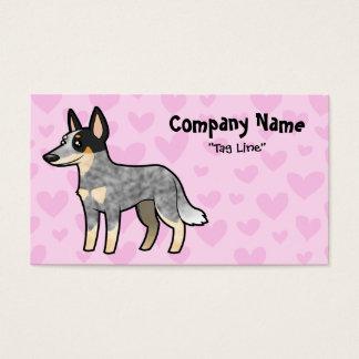 Australian Cattle Dog / Kelpie Love Business Card