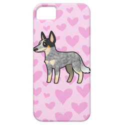 Australian Cattle Dog / Kelpie Love iPhone SE/5/5s Case