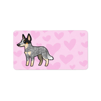 Australian Cattle Dog / Kelpie Love Label