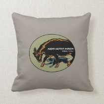 Australian Cattle Dog - Mind Moves Matter Throw Pillow