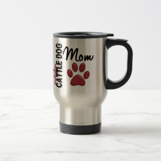 Australian Cattle Dog Mom 2 Travel Mug