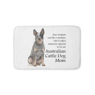 Australian Cattle Dog Mom Bathmat