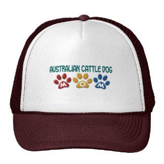 AUSTRALIAN CATTLE DOG MOM Paw Print Hat