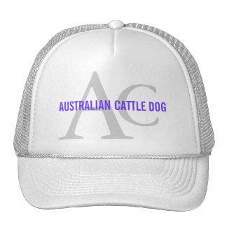 Australian Cattle Dog Monogram Trucker Hat
